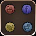 Round icon theme icon