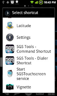 SGS Touchscreen Booster- screenshot thumbnail