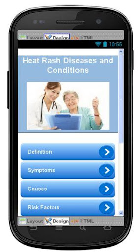 Heat Rash Disease Symptoms