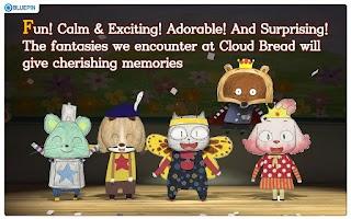 "Screenshot of Kids animation ""Cloud Bread Ⅱ"""