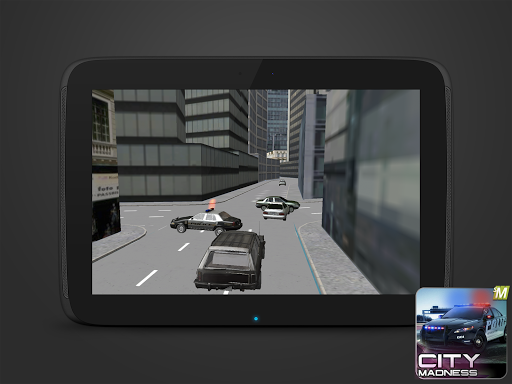 City Madness Police Racing 3d