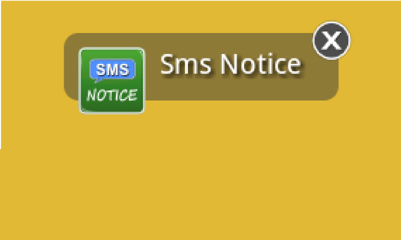 Sms Notice Lite - screenshot