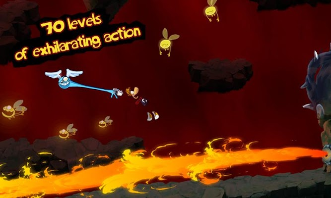 Rayman Jungle Run Screenshot Image