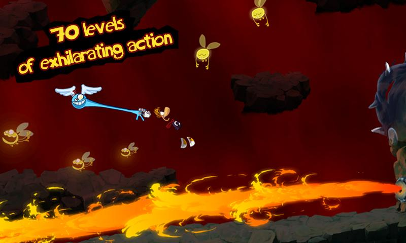 Rayman Jungle Run - screenshot