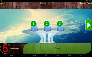 Screenshot of Three thimble
