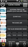 Screenshot of TV & Movie Guide Australia