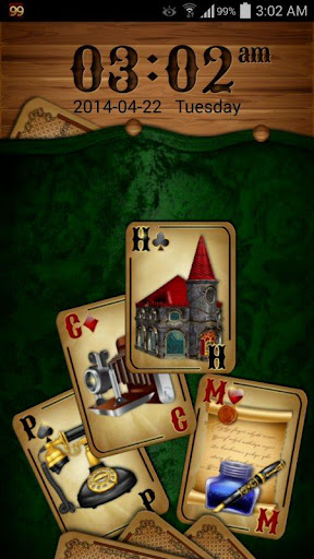 GO Locker Theme: Cards