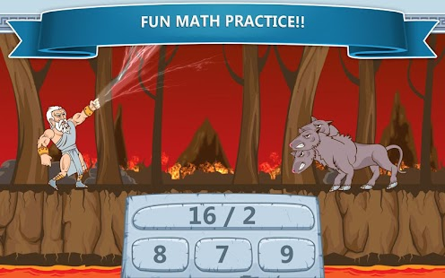 Math Games - Zeus vs. Monsters - screenshot thumbnail