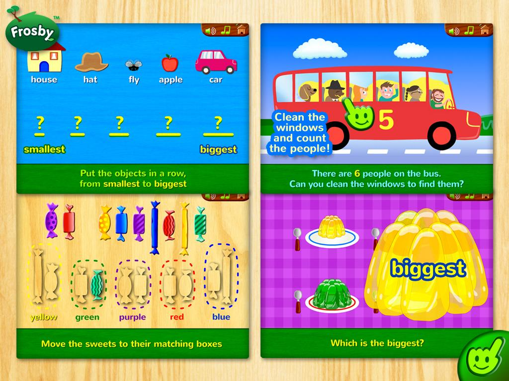 Frosby Learning Games- screenshot