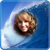 Sea Waves Photo Frame