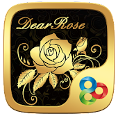 Dear Rose GO Launcher Theme