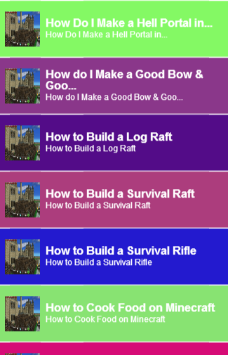 Guide For Survival Craft
