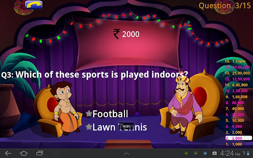 Game KBC Quiz with Bheem APK for Windows Phone