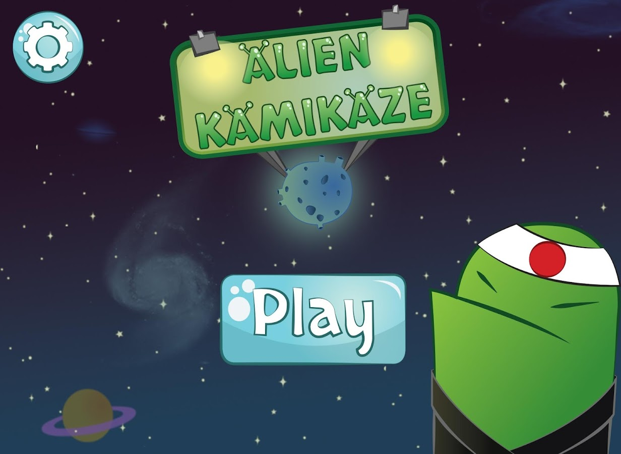 ALIEN KAMIKAZE Tap Tap Defense - screenshot
