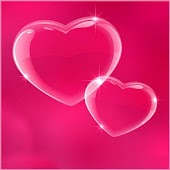 Pink Hearts GO Launcher