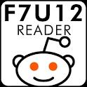F7U12 Reader logo