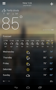 Yahoo Weather v1.2 Build 91591224