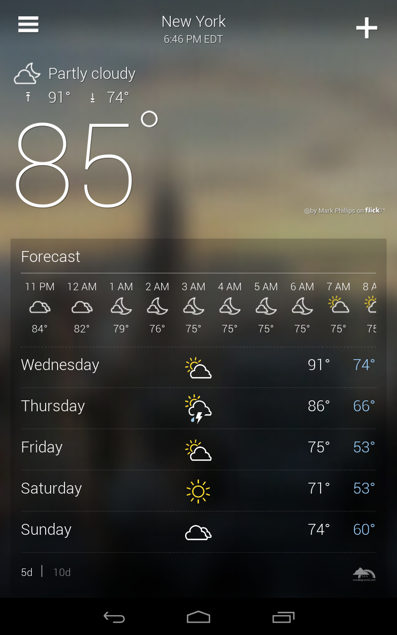 Yahoo Weather screenshot #12