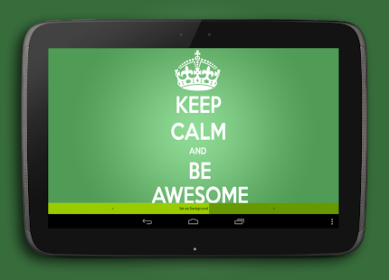 KEEP CALM AND ...- screenshot thumbnail