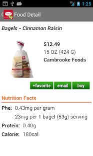 Cambrooke Foods for PKU - screenshot thumbnail