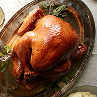 Roasted Turkey with Thyme Gravy