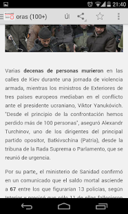 Noticias Libres (Boicot AEDE) - screenshot thumbnail