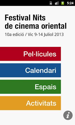 Festival Nits cinema oriental