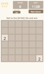 2048 6x6
