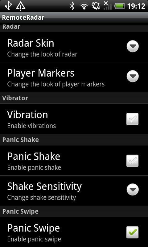 RemoteRadar - Organner - screenshot