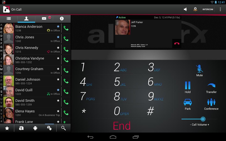 Allworx Reach - screenshot