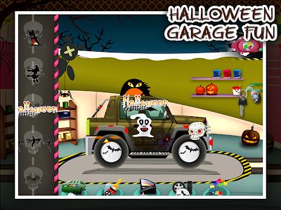 Halloween Car Garage Fun v53.1