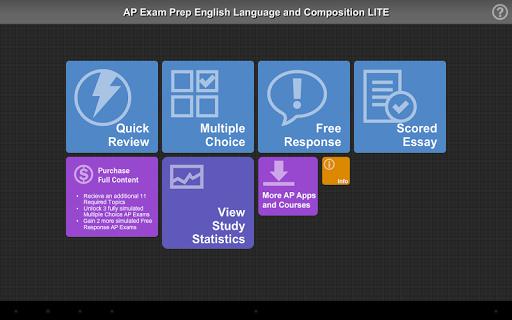 AP Exam Prep English Lit LITE