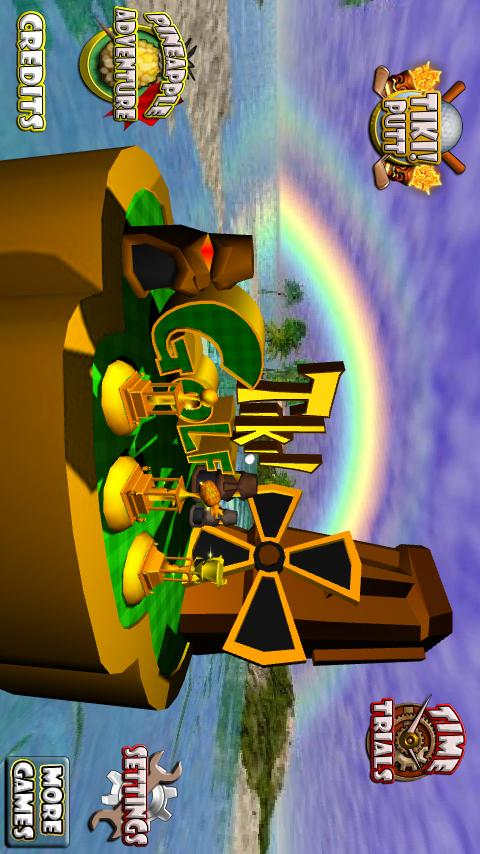 Tiki Golf 3D - screenshot