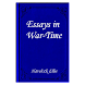 Essays in War-Time-Book