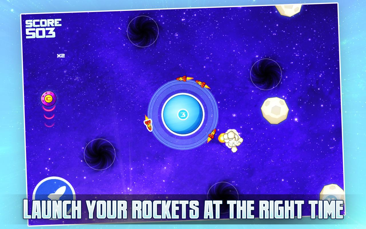 Tap-Tap Rockets - screenshot