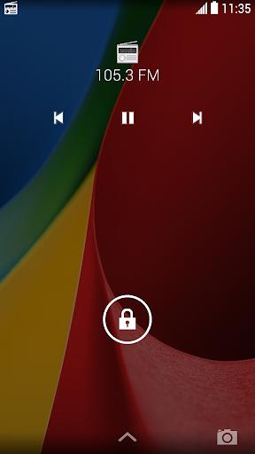 Motorola FM 收音機