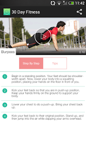 30 Day Fitness Challenges - screenshot thumbnail