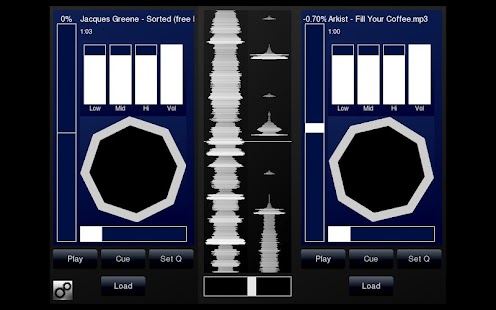 DJPad Free Turntable DJ Mixer- screenshot thumbnail