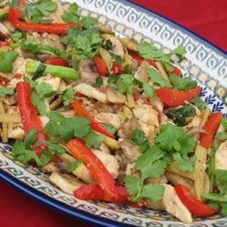 Thai Ginger Chicken (Gai Pad King).