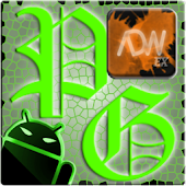 ADW Theme PoisonGreen