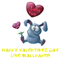 Happy Valentines Day livewall icon