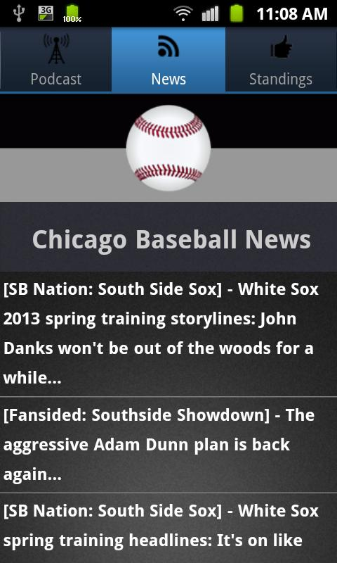 Chicago (CWS) Baseball - screenshot