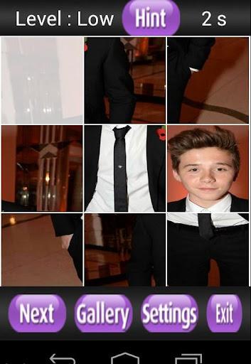 【免費解謎App】Brooklyn Beckham Puzzle Games-APP點子