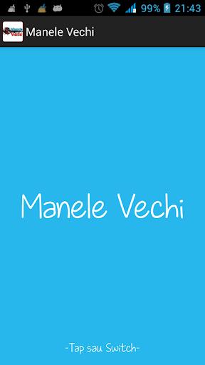 Manele Vechi