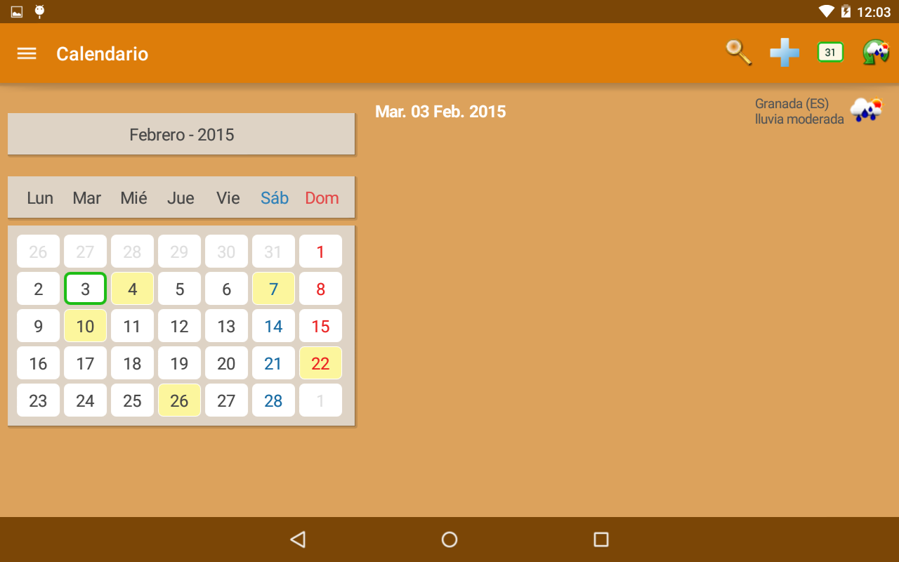 My Personal Agenda Android Apps On Google Play