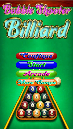 Bubble Shooter Billiard