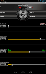 EVGA Precision X APP Screenshot 6