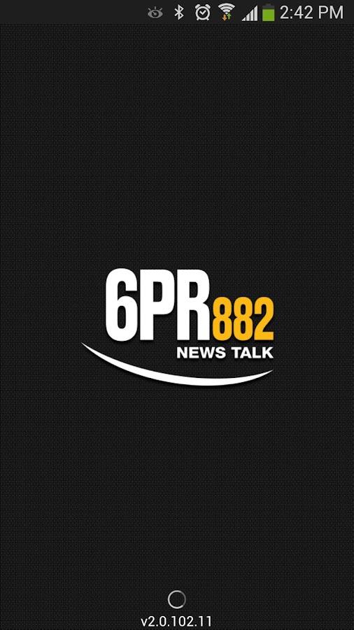 Radio 6PR - screenshot