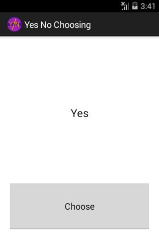免費教育App|Yes-No chooser|阿達玩APP