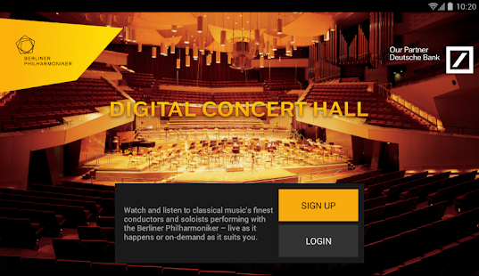 Digital Concert Hall Screenshot 27